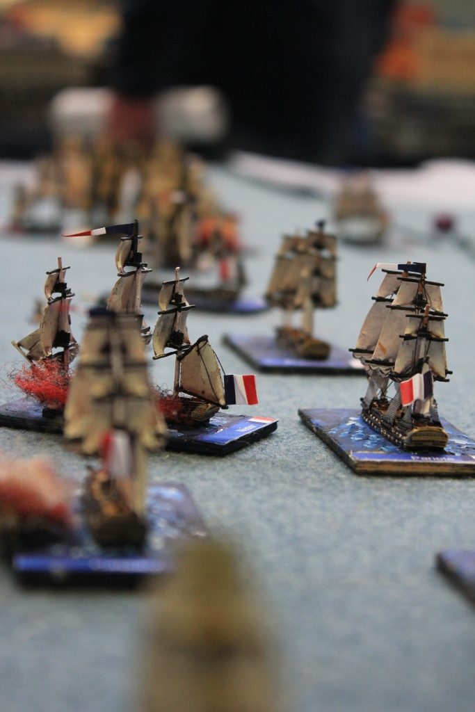 The French main fleet arrives, but are they too late to save the day?