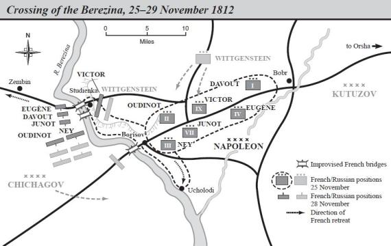 Berezina - Area Map