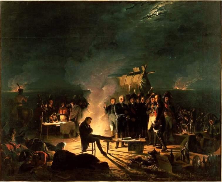 Napoleon_bivouac_Wagram